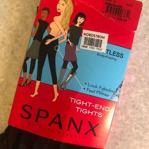 SPANX Accessories - NWT Spanx Footless Tight-End Tights Size C